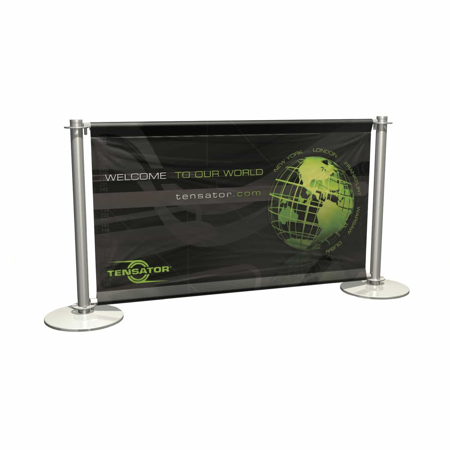 cafe banner stainless steel