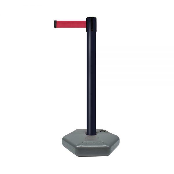 Tensabarrier® Outdoor Post with Retractable Belt