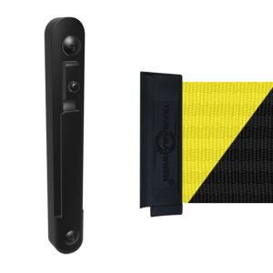Wall Receiver Clip for Retractable Barrier