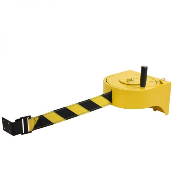 Tensabarrier® XL Industrial High-visibility Barrier with 23m Nightview Belt