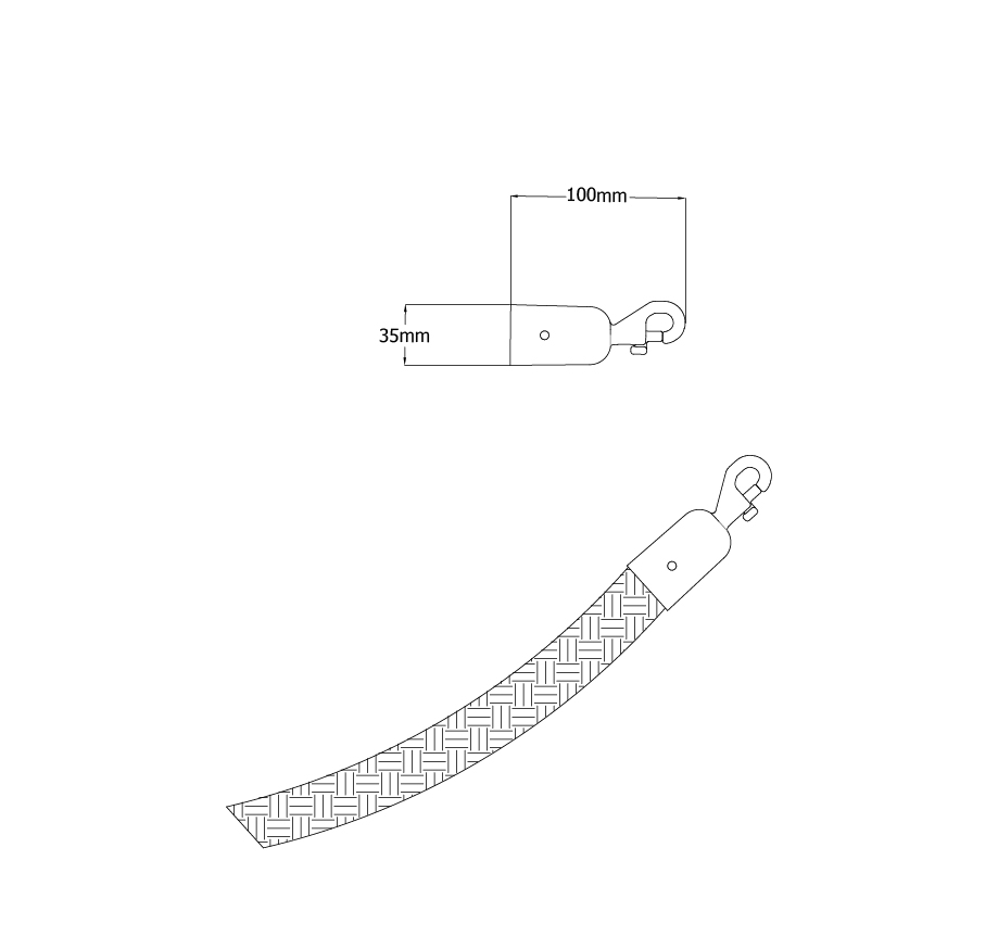 Tensabarrier-Technical-Drawing-Lawrence-Metal-Braided-Rope